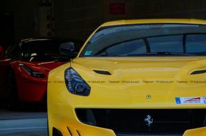 Shooting photo Ferrari F12 TDF et LaFerrari