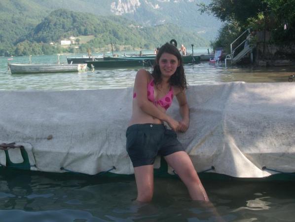 Moi au lac