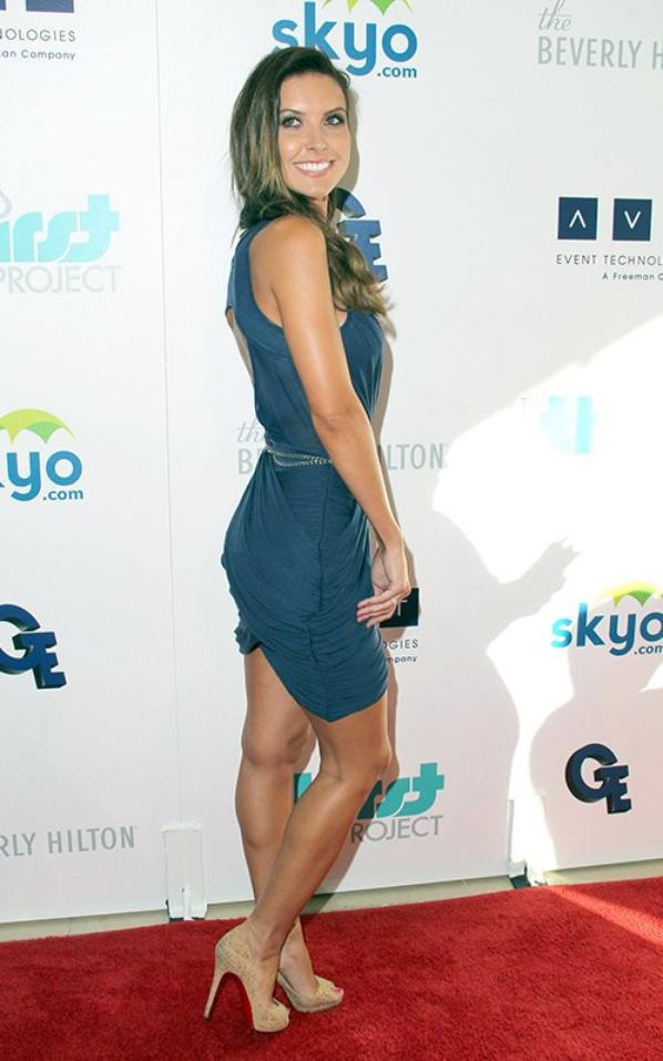 Audrina au Beverly Hilton Hotel à Beverly Hills - Le 25 juin 2013