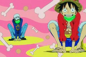 Alliance pirate Luffy & Law