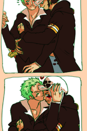 Law x Zoro /!\ Yaoi!
