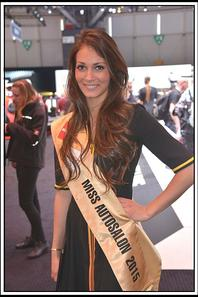 Julia Bordonado, Miss Auto salon de Genève 2015