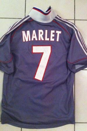 Maillot Europe 2000/2001, Steve Marlet