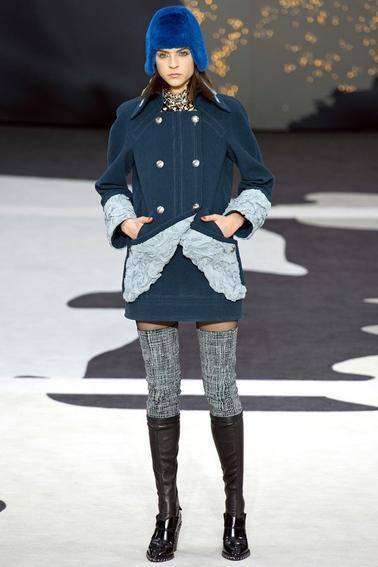 Défilé Chanel automne hiver 2012 2013