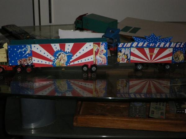 diorama de la future façade du cirque