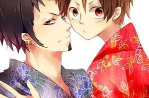 "Law x Luffy ""kimono"""