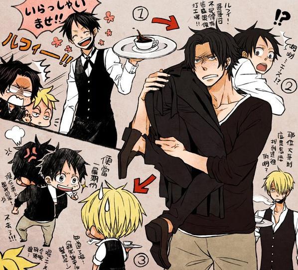 Ace x Luffy BD