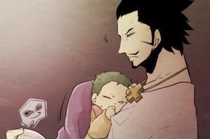 Mihawk & Baby Zoro et Pérona / part 1