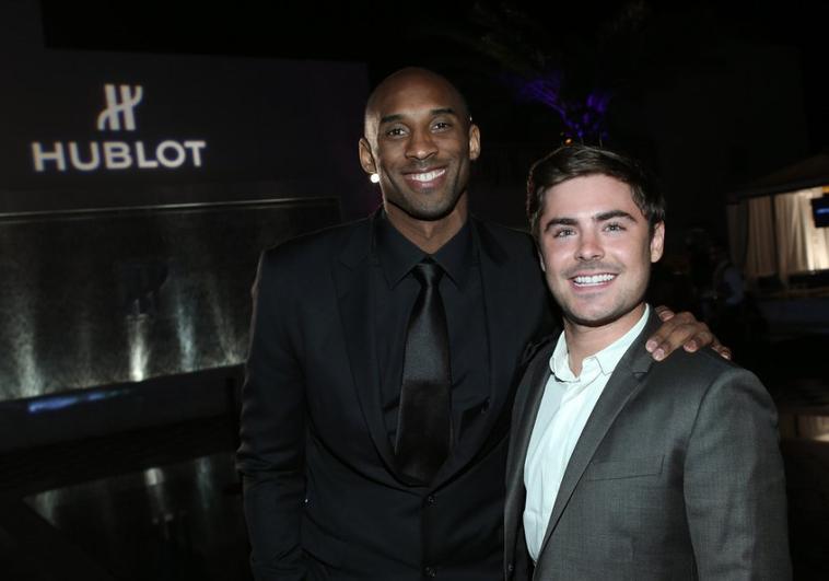 [20 Mars 2013] Zac à la célébration de la nomination de Kobe Bryant comme ambassadeur de Hublot