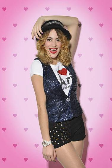 Photoshoot de Martina pour le Magazine Français Trinity Star en 2013
