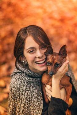Photoshoot de Martina pour le Magazine Oh My Dog (Juillet 2016)