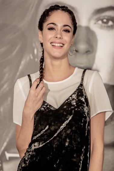 Photocall de Martina en Italie à Rome pour l'annonce de la lancé de sa tournée le Got Me Started Tour 2017 (Octobre 2016) (19 ans)