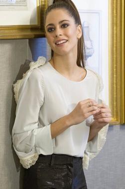 Photoshoot de Martina à Madrid en Espagne lors d'une journée de presse (02 Mars 2017)