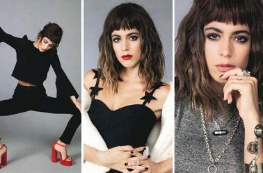 Photoshoot de Martina pour le magazine Elle (Mai 2017)