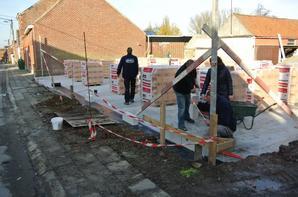 Maçonnerie blocs premier étage