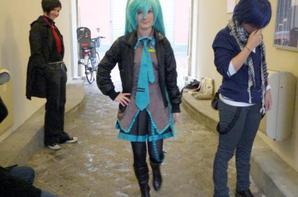 Miku Hatsune ( sortie cosplay )