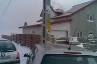 maison d'hiver en Roumanie