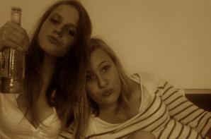 Ma Poulette et moi <3