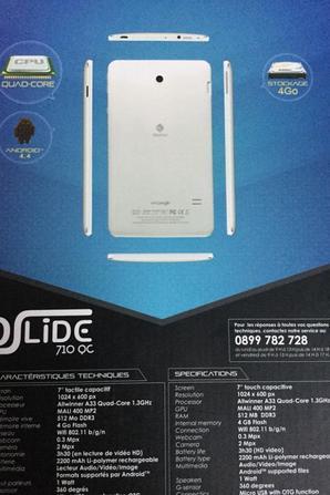 Danew DSLIDE 710QC Tablette