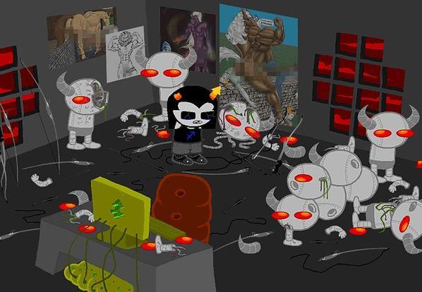 les 4 autres trolls rencontrés