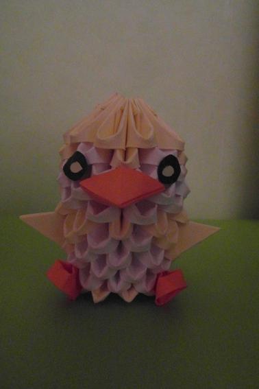 Pingouin Poussin Oiseau Origami !!!