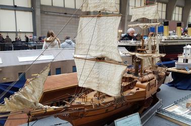 Maquette expo de Cherbourg 2