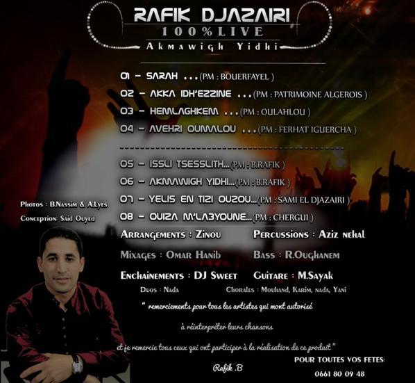 RAFIK DJAZAIRI 2013