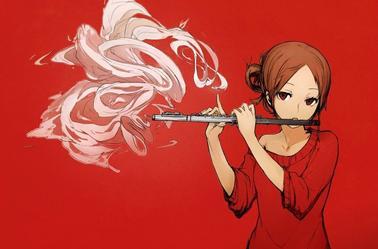 joueuse de flûte