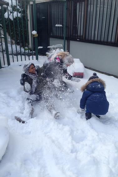 Boules de neige !!