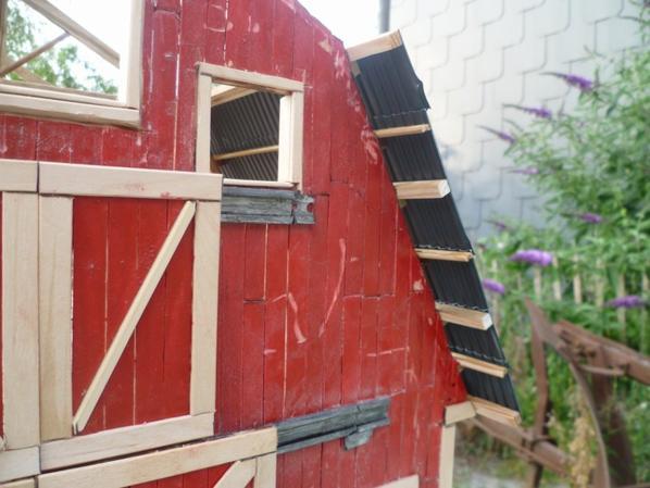 portes coullisantes de la grange