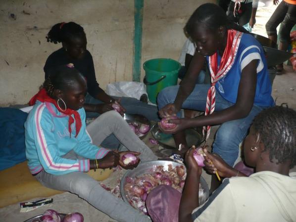 semaine départemental de la jeunesse camp de la croix rouge jeunesse de bargny