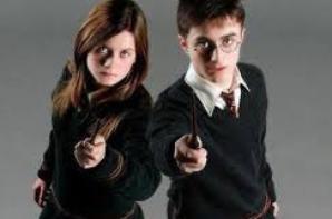 Harry et ginny ; ron et hermione