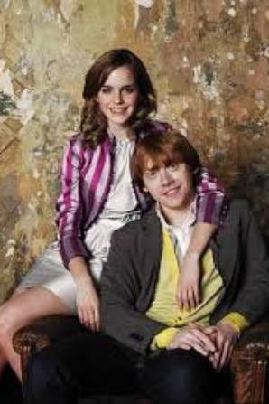 ron hermione évolution