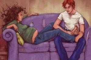 toujours ron et hermione