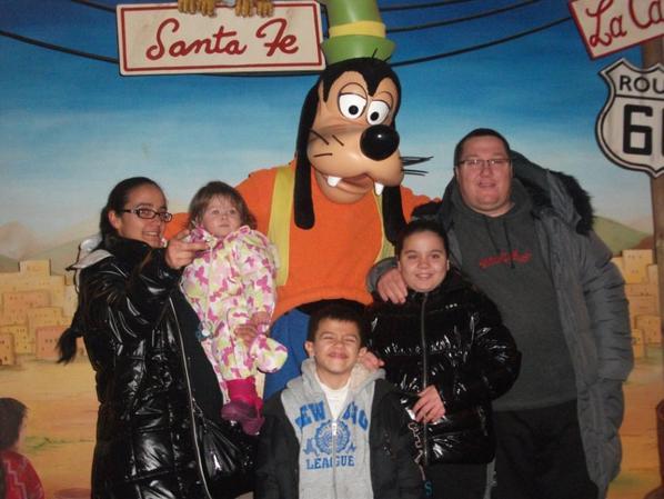 ma tante et sa famille