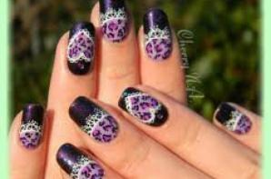 #1 : Tuto nail art léopard.
