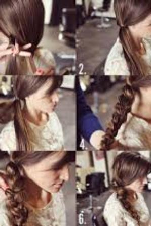 #1 : Tuto coiffure cheveux long.