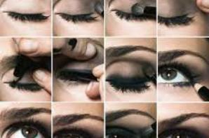 #1 : Tuto maquillage yeux marron.
