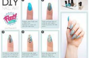 #2 : Tuto nail art azteque.