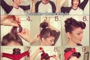 #2 : Tuto coiffure chignon.