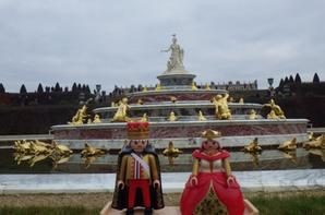 Petite balade au chateau de Versailles