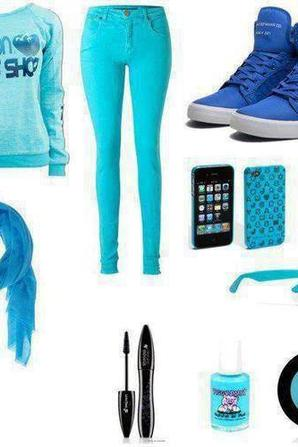 Bleu , Bue , Azul