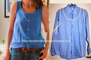 comment créer des vêtements original a partir d'ancien vêtements