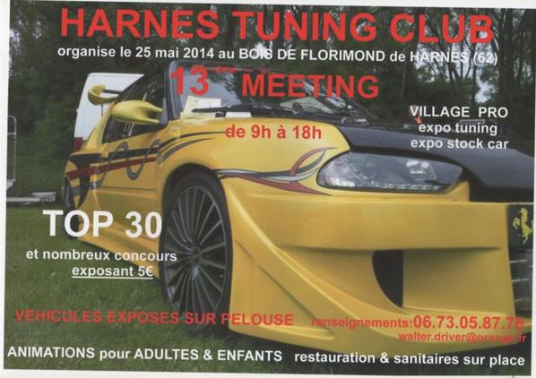 meeting du harnes tuning club 25.05.2014