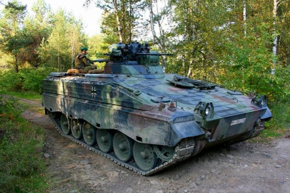 1er Reportage pour le magazine avec l'armée allemande merci