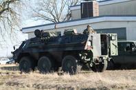 véhicules de l'armée allemande