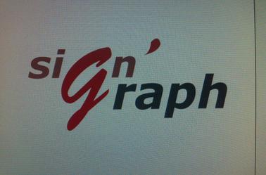 ébauche d'un logotype - 2014