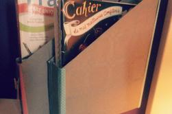 transforme tes boites de céréales en rangements pour ta chambre