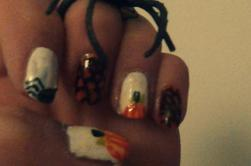 Nail art Haloween