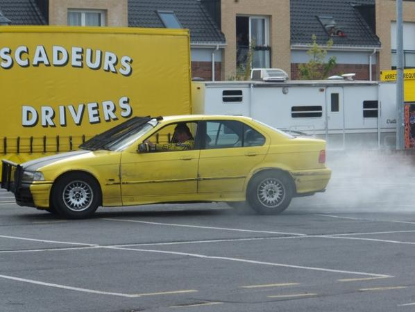 On fait fumer les pneumatiques !